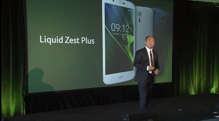 Acer Liquid Zest Plus comes with a massive 5,000mAh battery and will be priced under 0 (Source: Acer/YouTube)