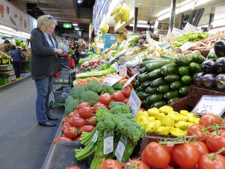 Adelaide Central Market offers the cheapest and freshest vegetables, both locally grown and imported. (Photo: Bijoy Venugopal)