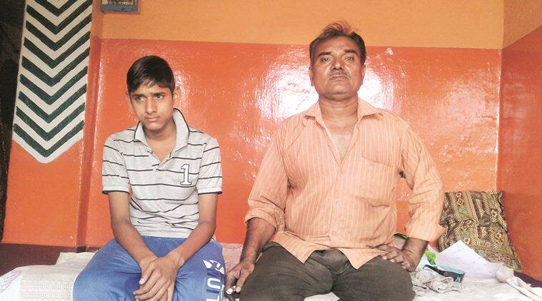Adil's father and younger brother; The minor's house in Dhori is locked, the family left a few days after the arrest. Prashant Pandey