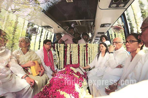 Ravi kanojia, Photojournalist Ravi Kanojia, Ravi kanojia photos, Ravi kanojia recent photos, Ravi Kanojia indian express photojournalist, Ravi Kanojia's accidental death, Kamla Advani, Kamla Advani death, Kamla Advani passes away, LK Advani wife dies, Lk Advani wife passes away, Lk advani wife dead