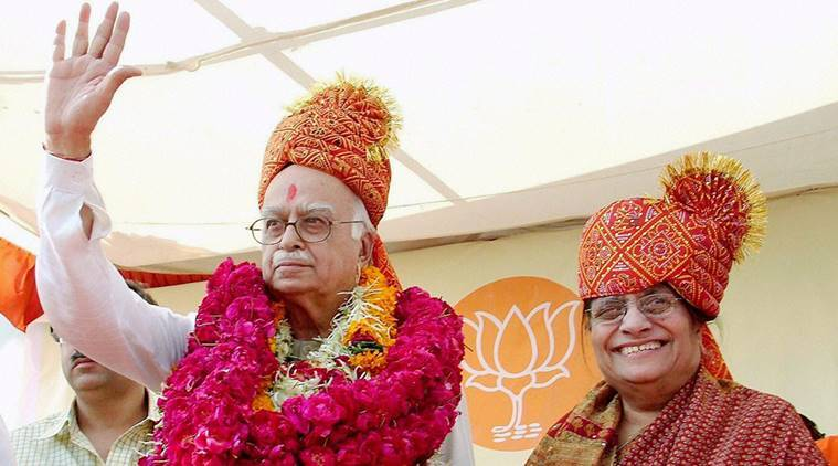 kamla advani, lk advani wife,