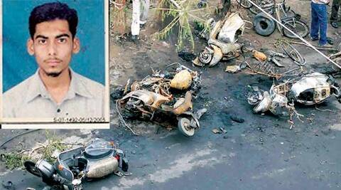 ahmedabad blast, 2008 blast, 2008 ahmedabad blast, SIMI activist held, indian express ahmedabad