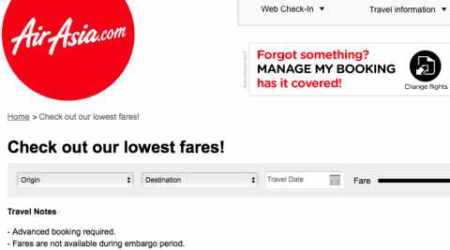 AirAsia tickets for as low as Rs 999, but there are riders