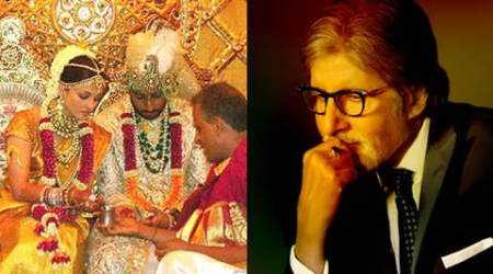 Amitabh Bachchan wishes Abhishek, Aishwarya Rai on 9th wedding anniversary