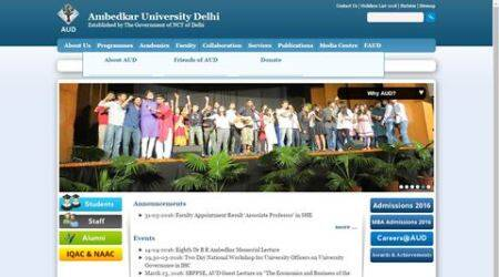 First time in 8 years: Ambedkar University to hold  student unionelections