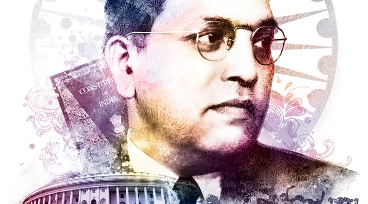Ram Madhav, RSS, BJp, Hindutva, Hindutva politics, indian democracy, B R Ambedkar, architect of Indian Constitution, Bhimrao Ambedkar, dalllit rightsl, RSS pracharak,  M.S. Golwalkar,  express opinion