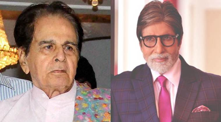 Amitabh Bachchan, Dilip Kumar, Amitabh Bachchan Dilip Kumar, Amitabh Bachchan Dilip Kumar news, Amitabh Bachchan movies, Amitabh Bachchan upcoming movies, Dilip Kumar movies, Dilip Kumar news, Entertainment news