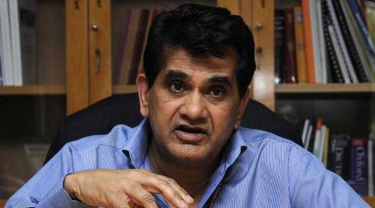 Niti Aayog, amitabh kant, Uttar Pradesh administration, Uttar Pradesh government, UP road map, indian express news, india news