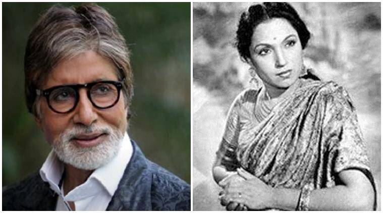 Amitabh Bachchan, Lalita Pawar, Amitabh Bachchan movies, Amitabh Bachchan upcoming movies, Amitabh Bachchan news, Amitabh Bachchan latest news, Amitabh Bachchan tribute, Lalita Pawar news, Lalita Pawar movies, Entertainment news
