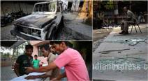 aligarh, aligarh muslim university, amu, amu violence, amu clashes, amu student clashes, amu student death, amu student killed, amu clashed student killed, amu violence photos, amu student clash photos, india news, education news, aligarh news, uttar pradesh news, latest news