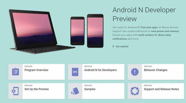 Google Releases a New Dev Preview of Android N with Automatic Update