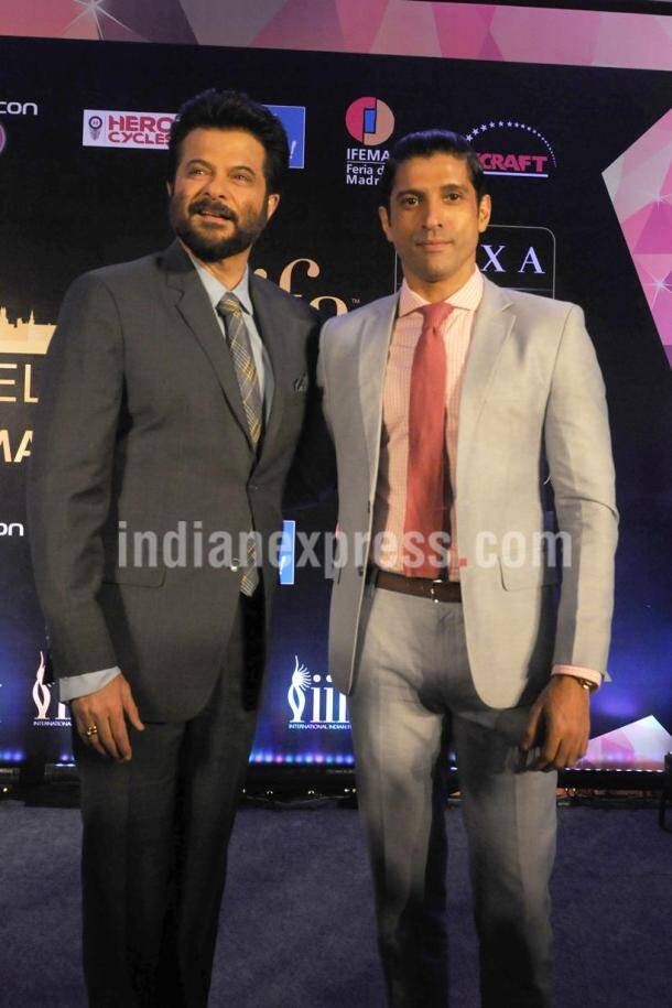 Anil Kapoor, Farhan Akhtar, iifa, IIFA 2016, ENTERTAINMENT PHOTOS