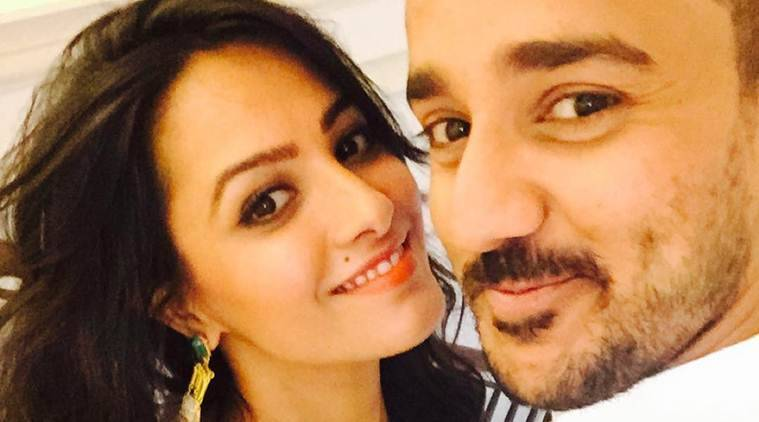 Anita Hassanandani Birthday 35th Gift