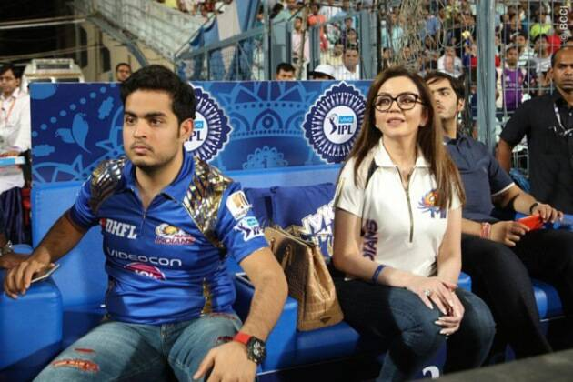 ipl 2016, ipl, anant ambani, anant ambani weight loss, kkr vs mi, kkr vs mi photos, mumbai indians, nita ambani, anant ambani photos, sachin tendulkar, ritika sajdeh, cricket news, cricket