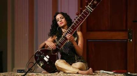Anoushka Shankar hears Europe's refugees with sitar
