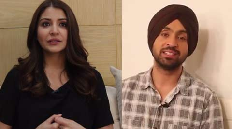 Diljit Dosanjh, Anushka Sharma, Anushka Sharma Diljit Dosanjh, Phillauri, Diljit Dosanjh songs, Diljit Dosanjh new song, Phillauri cast, anushka dilit, Anushka Sharma film, Diljit Dosanjh film, Diljit Dosanjh upcoming film, entertainment news