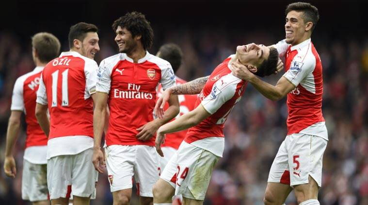Arsenal Manchester City Keep Premier League Title Race Alive Sports News The Indian Express