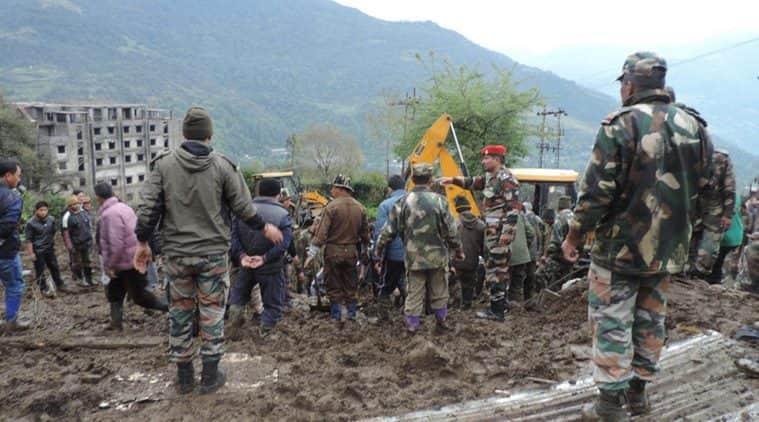 landslide, arunachal landslide, tawang, tawang landslide