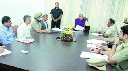 Administrator Solanki checks in at Chandigarh Secretariat, convenes review meeting