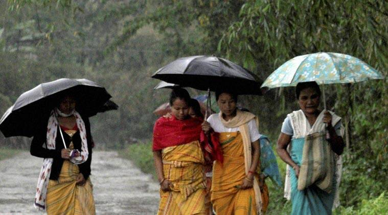 assam, assam thunderstorms, thunderstorms, weather, assam weather, assam hailstorm, hailstorm, assam Bordoichila, assam Bordoichila, assam news, northeast weather