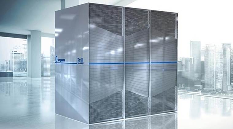 Atos' Bull sequana is the first exascale supercomputer capable of billion calculations per second (Source: Atos)
