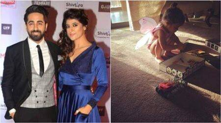 Ayushmann's daughter is a fairy with wings and ready to fly, seepic