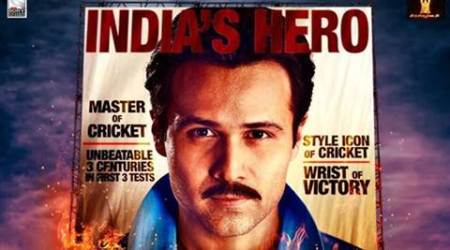 Emraan Hashmi shares 'latest poster' of 'Azhar'