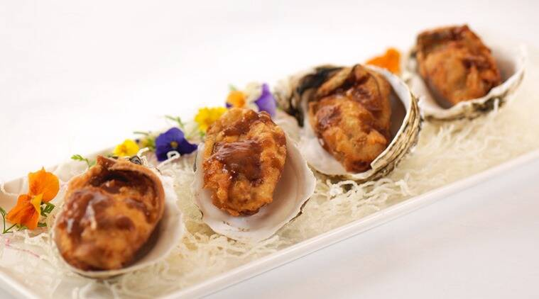 Try the baked oyster in port wine at the Chiu Chow festival at The Lantern at The Ritz Carlton, Bengaluru.