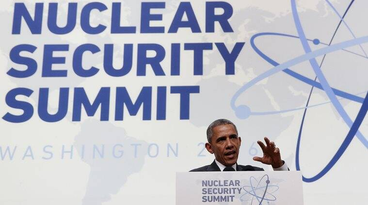 U.S. President Barack Obama speaks during his press conference at the conclusion of Nuclear Security Summit in Washington April 1, 2016. REUTERS/Kevin Lamarque TPX IMAGES OF THE DAY