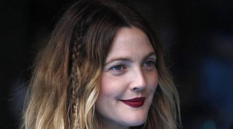 Drew Barrymore, Santa Clarity Diet, Drew Barrymore make-up, Drew Barrymore Instagram, Indian express service, Indian express online.