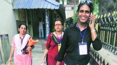 Riya Sarkar — the first transgender person in India to preside over a polling booth