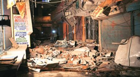 Cylinder blasts: 10-year-old boy escapes minutes before blast
