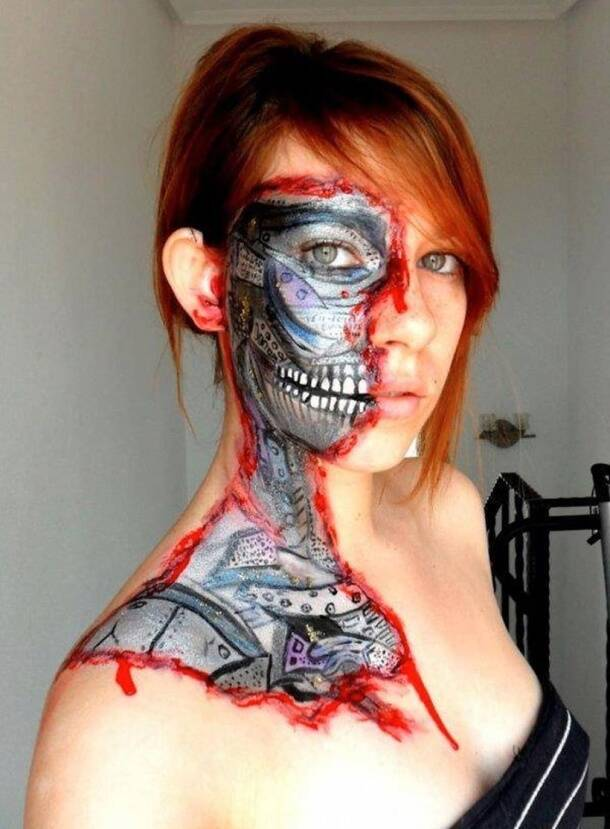 Really amazing body art