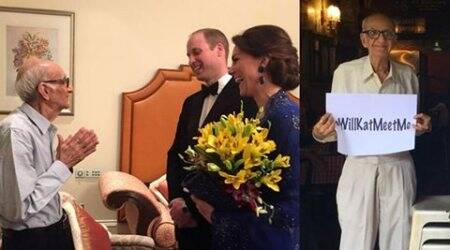 A dream come true: 93-yr-old Britannia restaurant owner finally meets Will andKate
