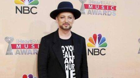 I try not to focus on past: Boy George