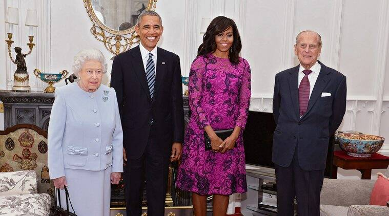 obama, barack obama, obama UK visit, obama meets queen, obama meets cameron, obama britain visit, brexit, brexit vote, queen birthday, queen elizabeth, prince george