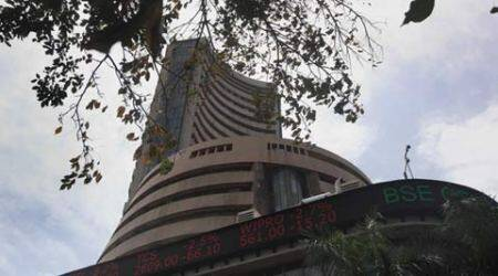 Sensex slips 56 points as May series gets off to a shaky start