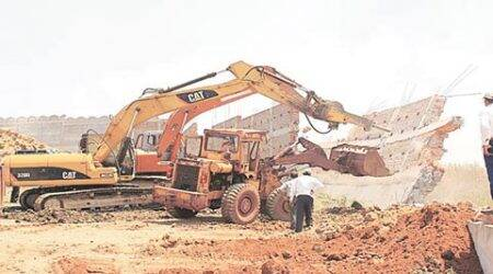 Bhubaneswar: 26 years on, encroachment by crorepati MLA razed