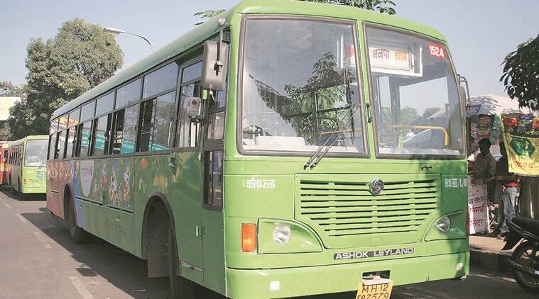 Ahmedabad news, Ahmedabad city news, gujarat news, AMTS budget , Ahmedabad Municipal Transport Servicec, CNG buses in ahmedabad, indian express news