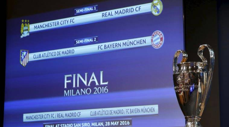 Man City face Real Madrid, Atletico play Bayern in Champions League