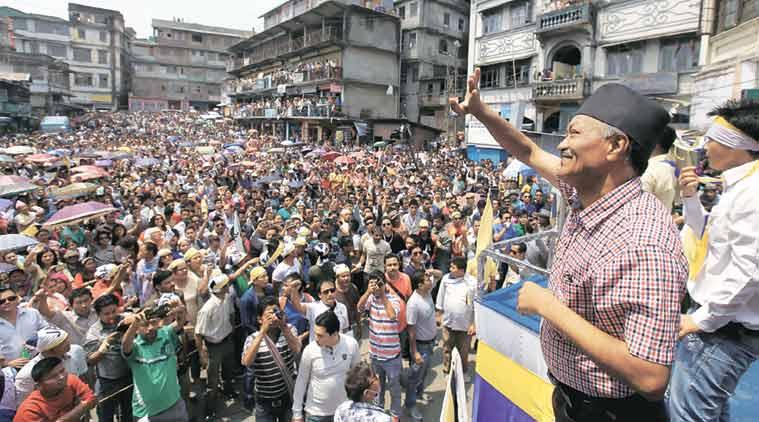 Harka Bahadur Chettri, Kalimpong, West Bengal, Bimal Gurung, BEngal elections, Bengal polls, Bengal election news, TMC, BJP, India news