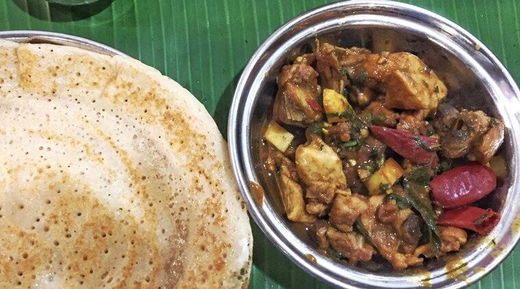 Chicken Pallipalayam and wheat dosas_Express Foodie_759