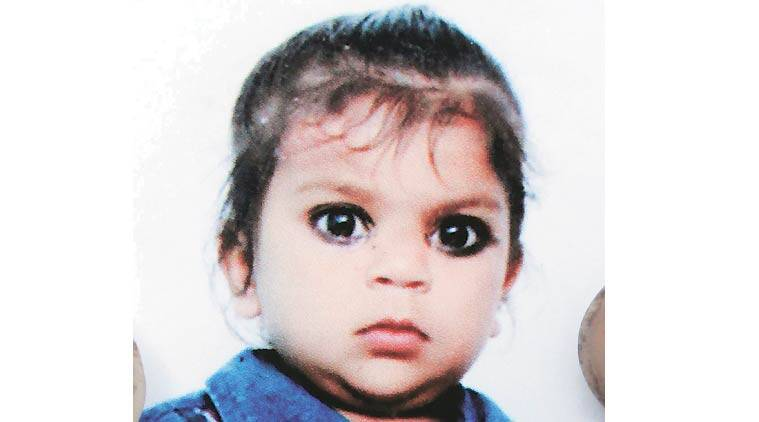 The victim was identified as Pihu, a resident of Sarangpur. According to the police, she was last seen at her home  around 5.30 pm on Monday.