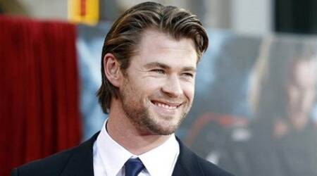 Chris Hemsworth couldn't stop laughing on 'Ghostbusters' set
