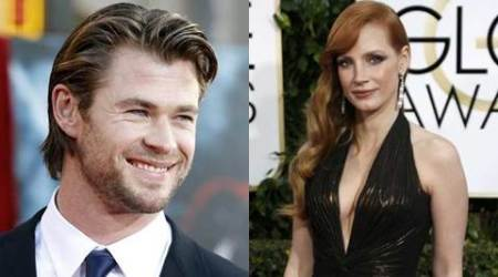 Chris Hemsworth is very good kisser: Jessica Chastain