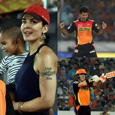 IPL 2016, SRH vs KXIP: Ayesha Mukherjee watches husband Shikhar Dhawan, David Warner make it three wins in three