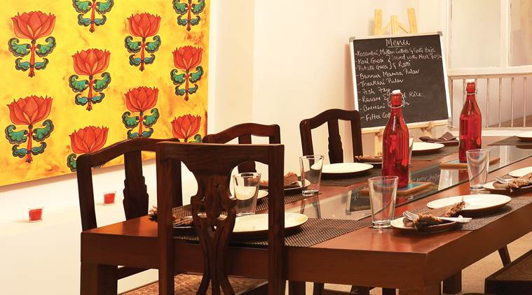 Bengaluru Oota Company evolved from a catering set-up into a tasting room.
