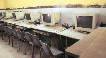 Not web, but cobweb: With no teachers, computers gather dust in MCD schools