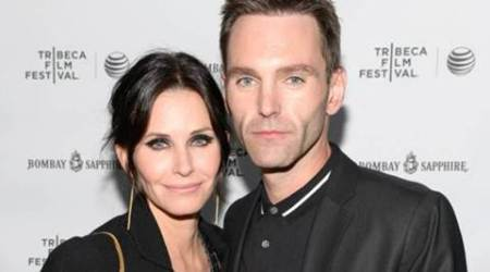 Courteney Cox reunites with Johnny McDaid