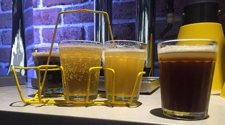 The Beer Cafe, beer, draught beer, cutting chai, cutting beer,